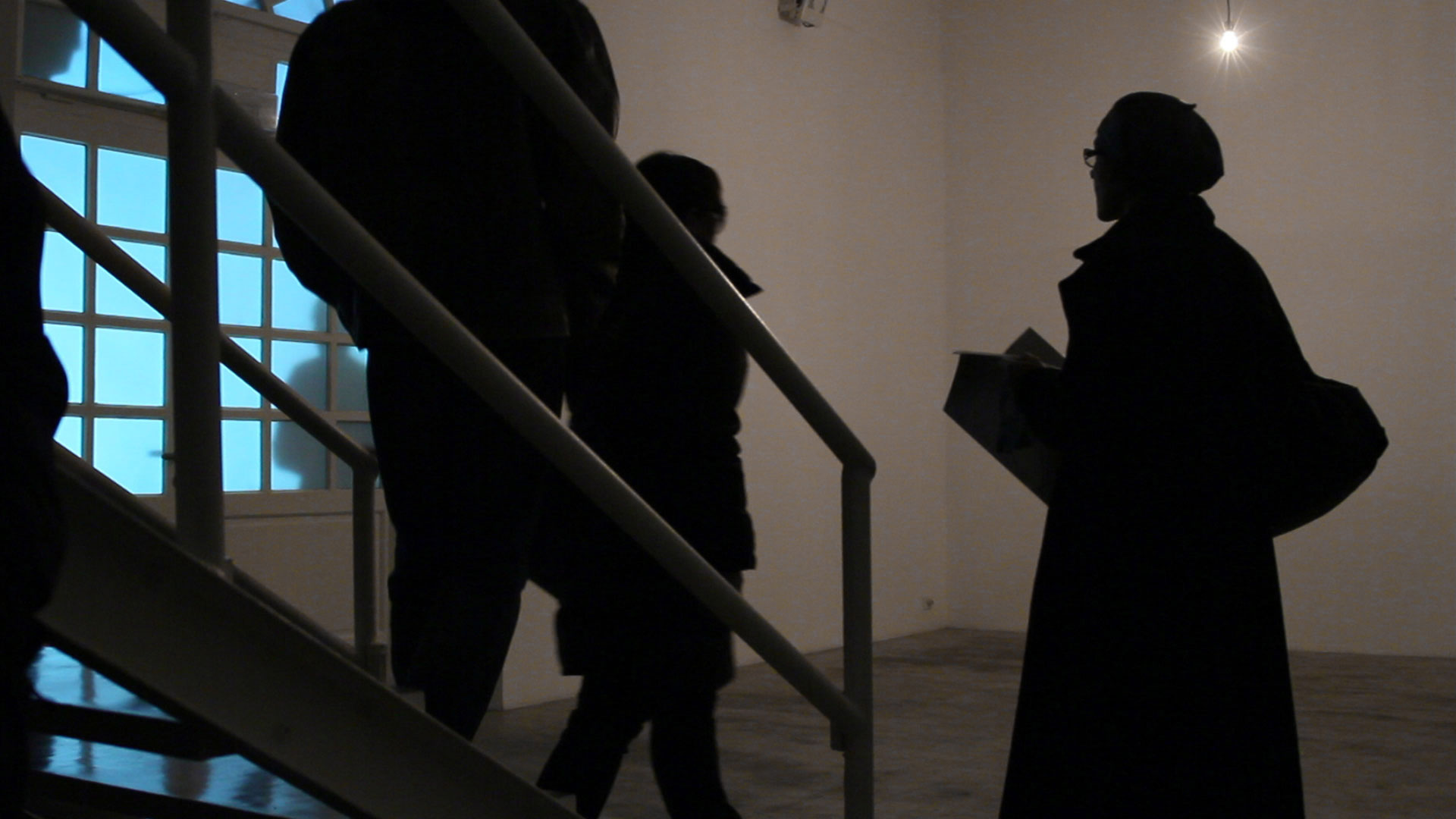 HR-Stamenov, PRESENCE, 2011, interactive ambient, video and light installation with sound, Studio Tommaseo, Trieste